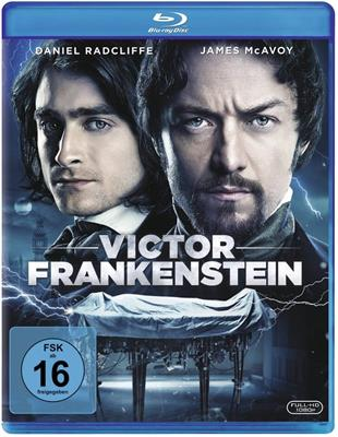Victor Frankenstein Bluray