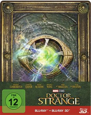 Doctor Strange (Limited Steelbook, Blu-ray 3D)