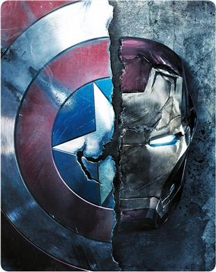 Captain America 3 (LE, Steelbook, Blu-ray 3D)