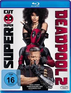 Deadpool 2 (Extended Cut, Kinoversion) Bluray